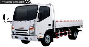 مشخصات فنی کامیونت 6 تن جک