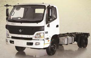 مشخصات فنی کامیونت 8 تن الوند