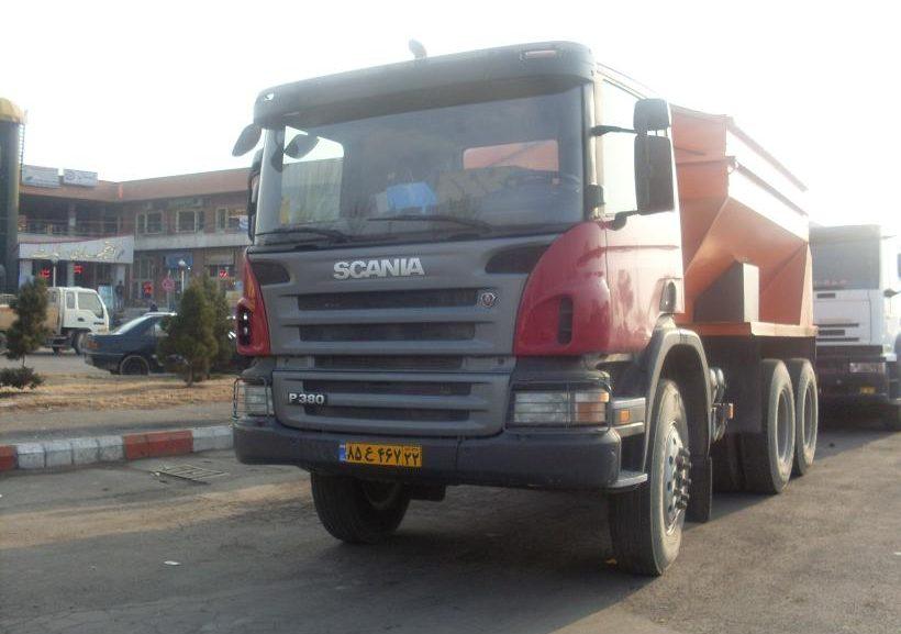 کامیون کمپرسی P380