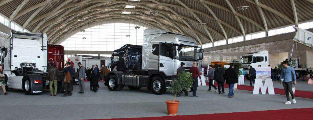 نمایشگاه کامیون ماموت دیزل