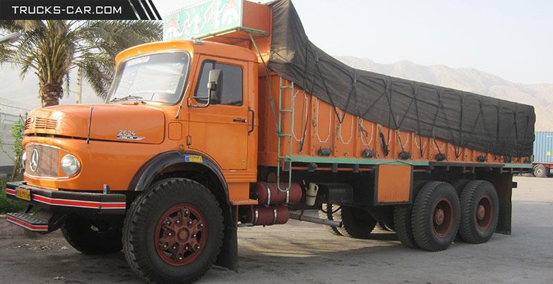 Photo of کامیون بنز 2624