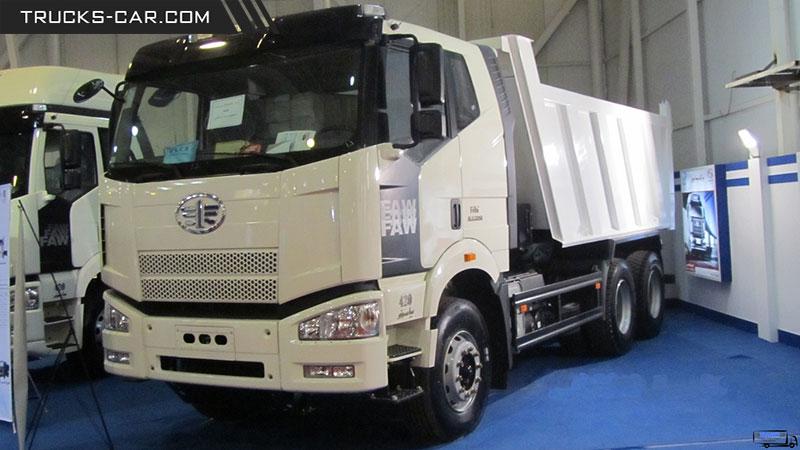 Photo of کامیون کمپرسی جفت محور فاو