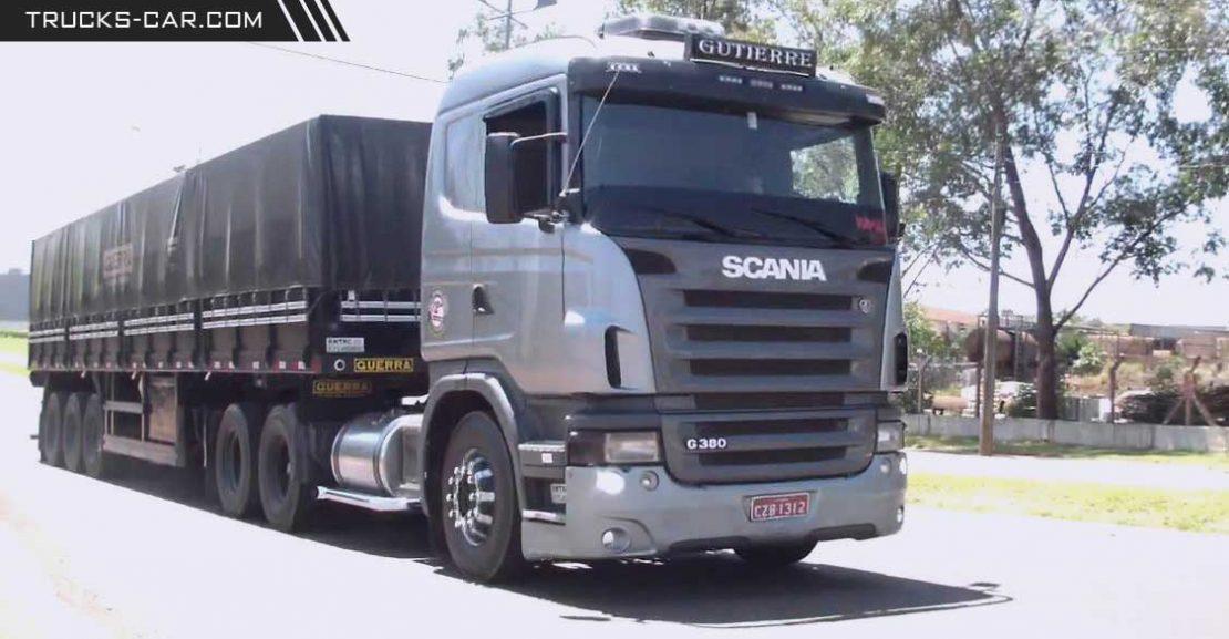 اسکانیا G380