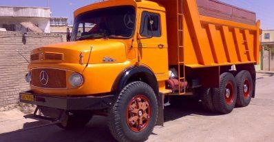 کامیون کمپرسی 2624 بنز