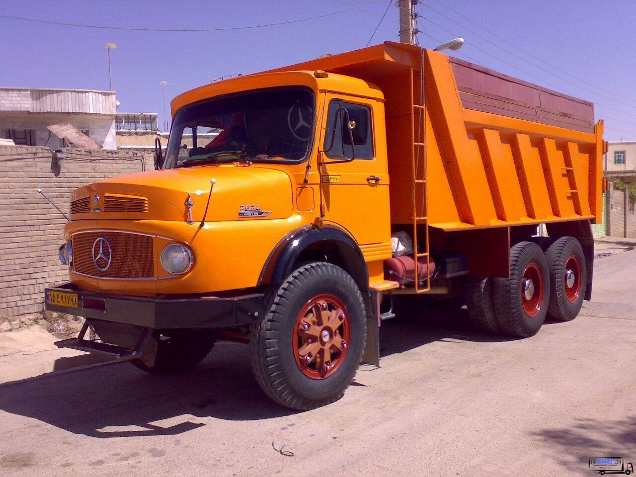Photo of کامیون کمپرسی 2624 بنز