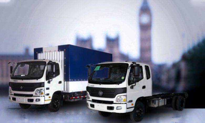 فروش اقساطی کامیونت الوند