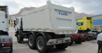 کامیون کمپرسی اسکانیا