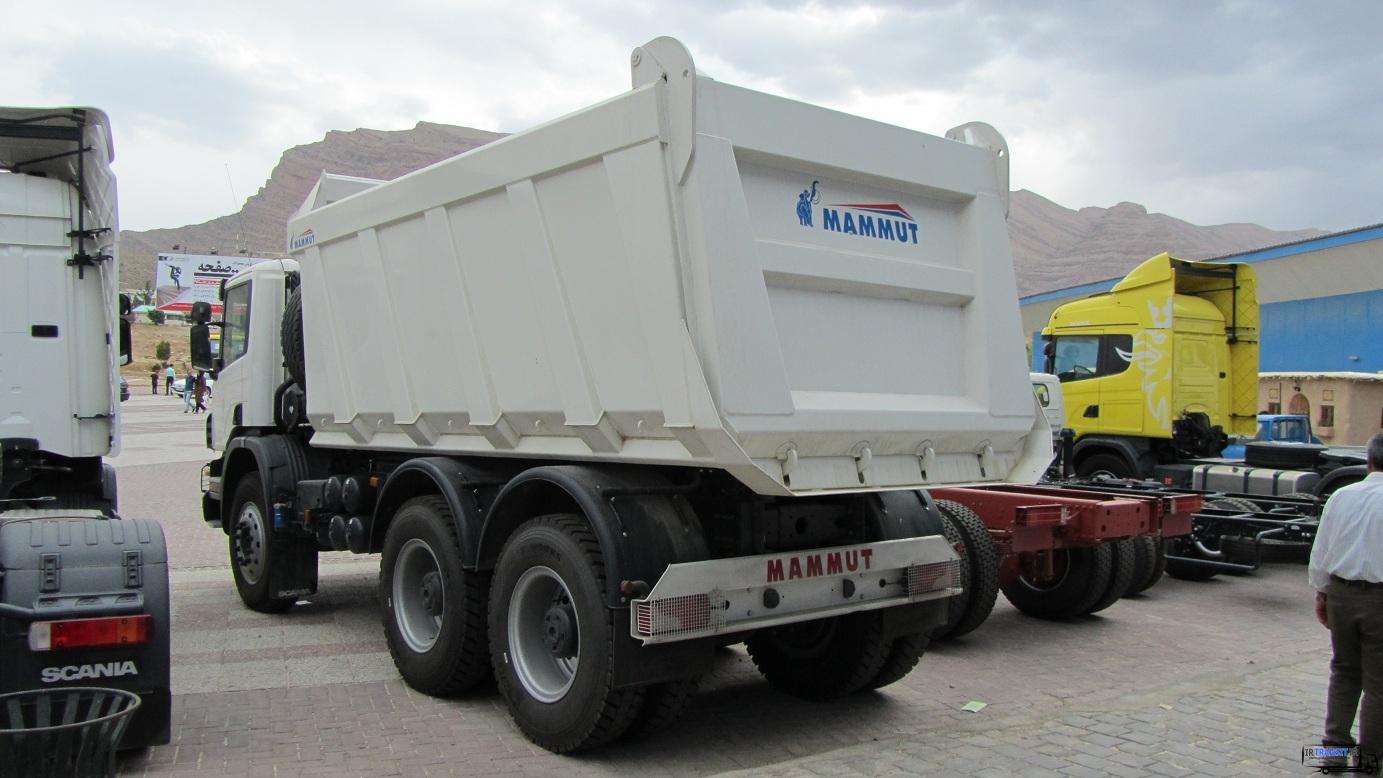 Photo of کامیون کمپرسی اسکانیا