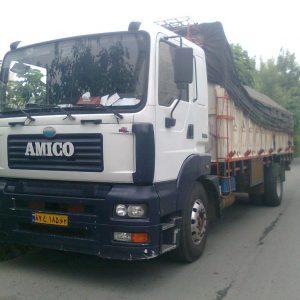 کامیون باری تک محور آمیکو