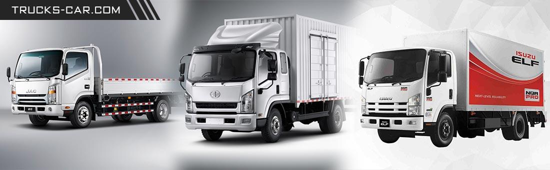 انواع کامیونت در ایران