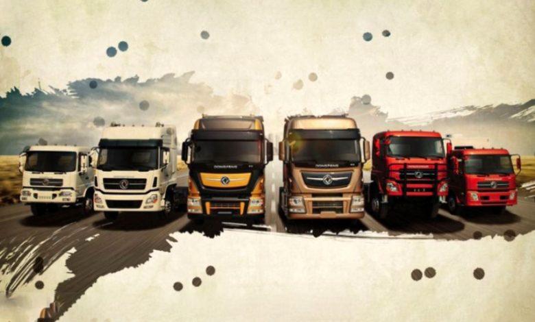 کامیون و کشنده دانگ فنگ