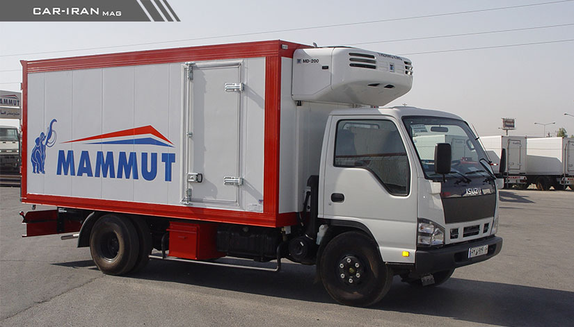 Photo of اتاق حمل بار یخچالی کامیونت
