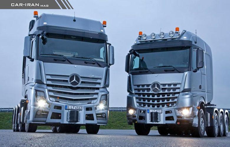 Photo of کامیون جدید بنز