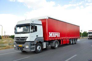 حق بیمه رانندگان کامیون