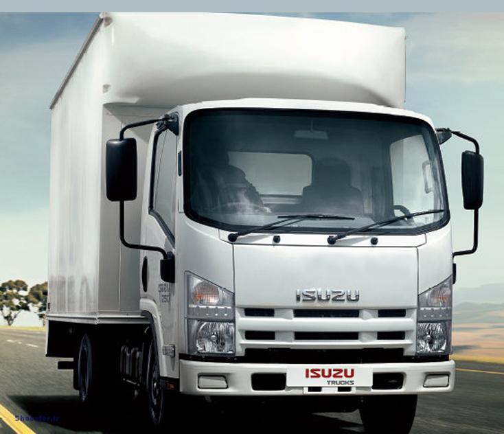 کامیون 6 تن ایسوزو سفید