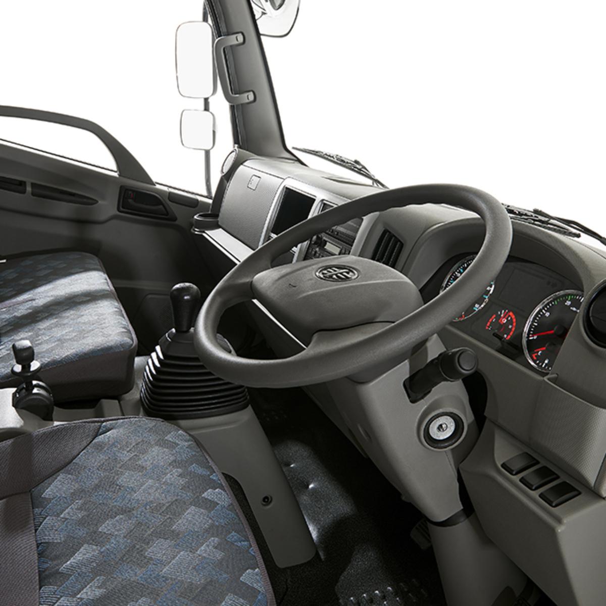 کامیون فاو نمای داخل