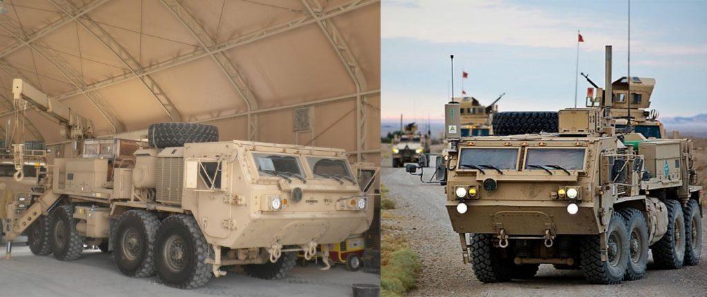 خودروهای نظامی خانواده HEMTT در ارتش آمریکا