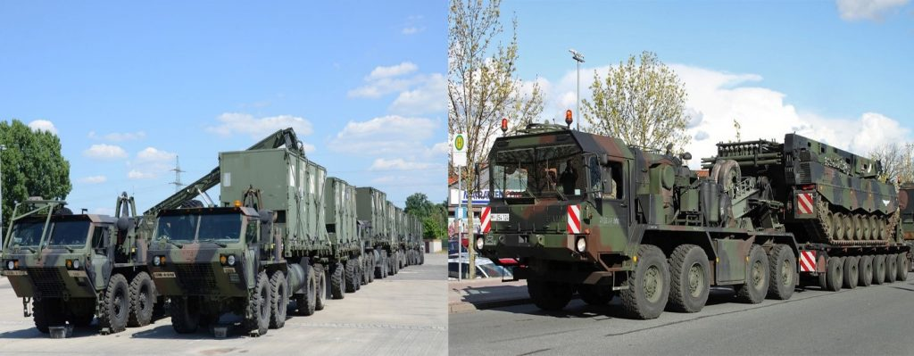 کامیون های نظامی خانواده HEMTT