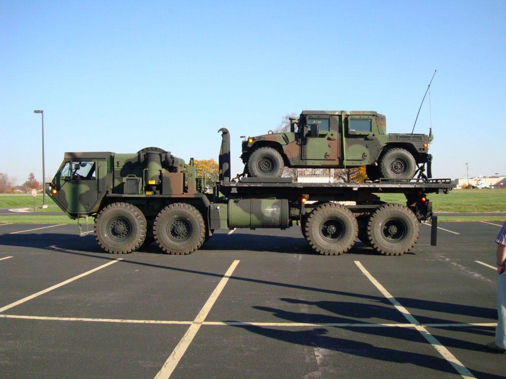 خانواده کامیون های کاربردی HEMTT