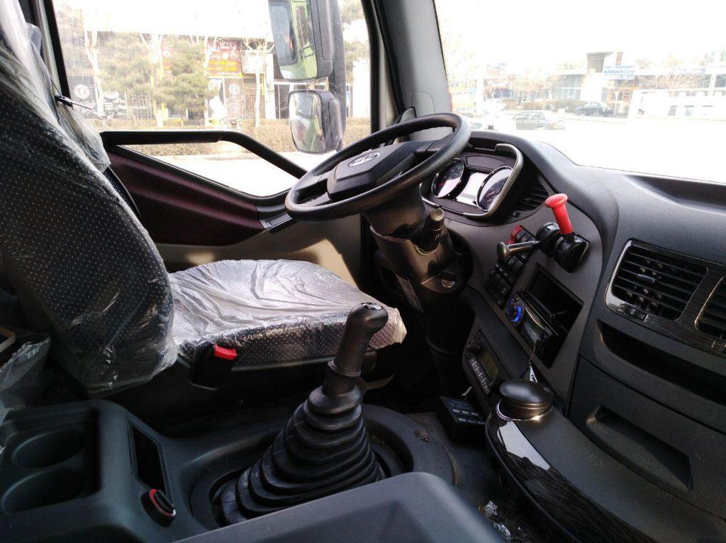 کابین کامیون فاو j6