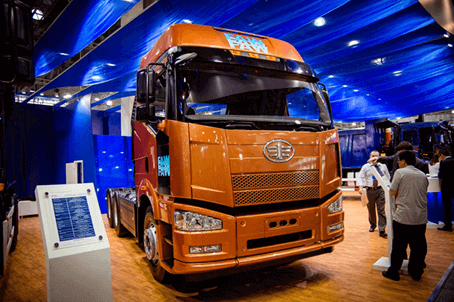 کامیون فاو نارنجی