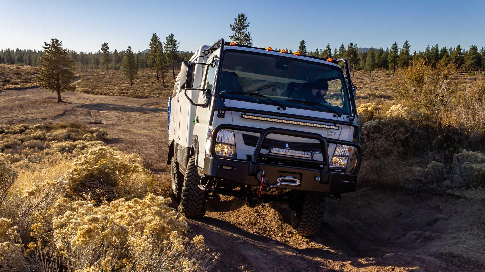 رونمایی از کامیون های جدید Earthcruiser