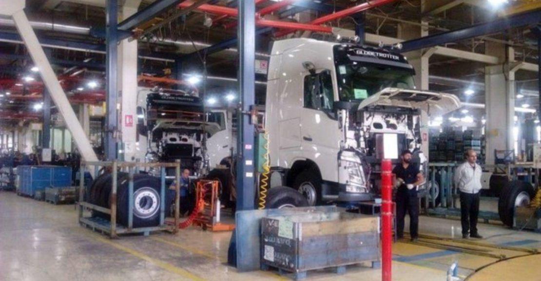 شبهه هایی در مورد افتتاح خط تولید کامیون در مشکین شهر