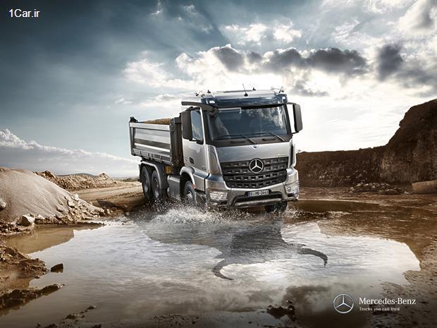Photo of مشخصات کامیون مرسدس بنز آروکس