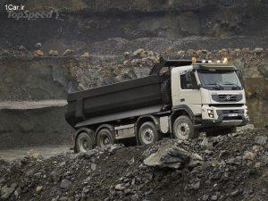 مشخصات کامیون ولوو fmx