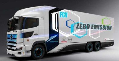 همکاری مشترک هینو موتورز و تویوتا برای تولید کامیون هیدروژنی