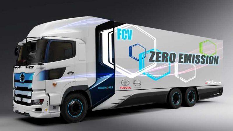 Photo of همکاری مشترک هینو موتورز و تویوتا برای تولید کامیون هیدروژنی