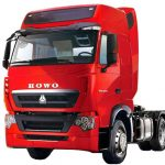 مشخصات کامیون کشنده سینو تراک مدل T7h