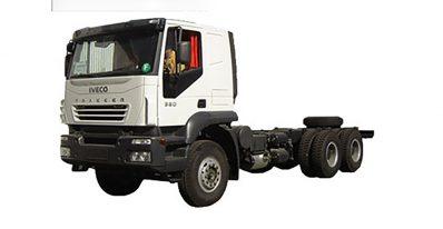 مشخصات فنی کامیون اویکو مدل at380