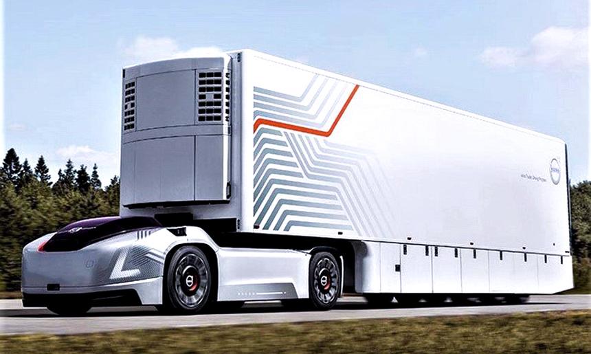 کامیون بدون سرنشین ولوو - تراکس کار