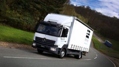 Photo of کامیون بنز آتگو Atego