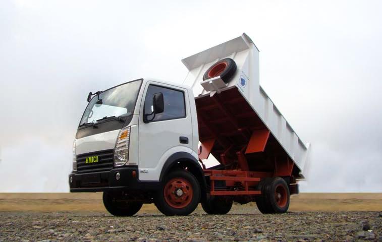 مشخصات فنی کامیونت آمیکو