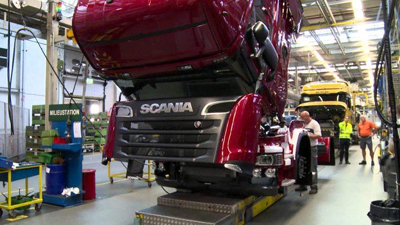 تولید اسکانیای چینی از سال 2022