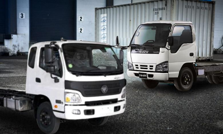 مقایسه کامیونت الوند و ایسوزو