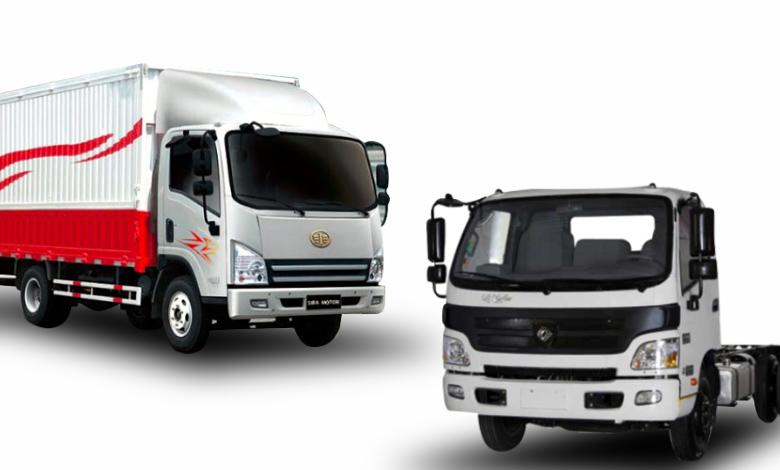 مقایسه کامیونت الوند و فاو