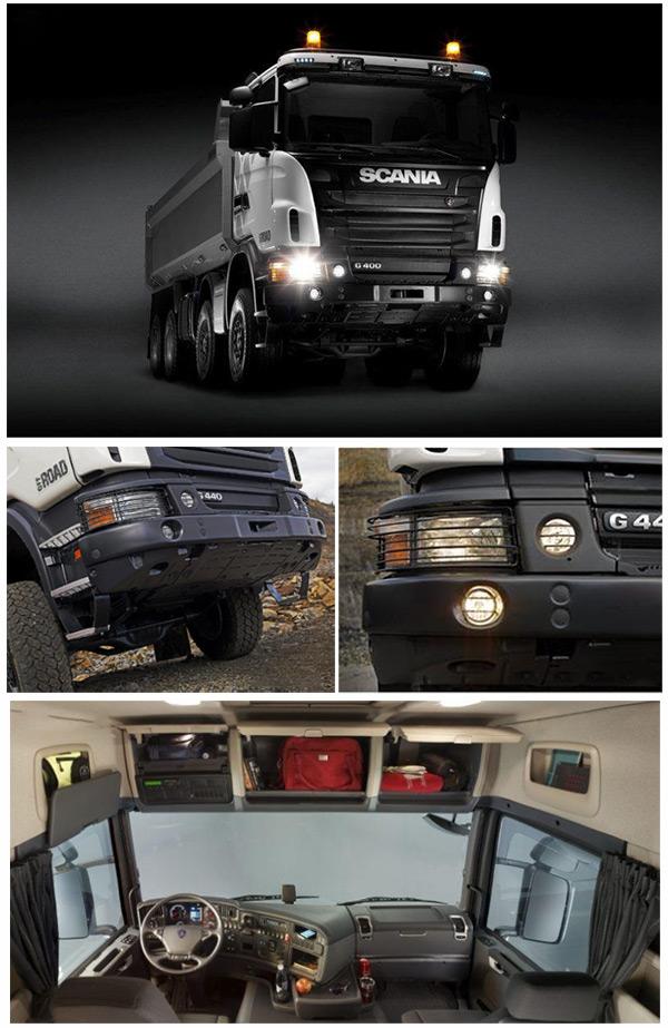 کامیون اسکانیا سری G